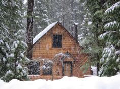 Quaint West Shore Tahoe Cabin - Cabins for Rent in Tahoma, California, United States Winter Cabin, Cozy Cabin, Cozy Winter, Tahoe Rentals, Cabin Rentals, Getaway Cabins, Lake Cabins, Log Cabin Kits, Forest Cabin