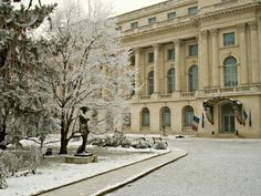 The Royal Palace of Romania, today housing the National Art Museum.