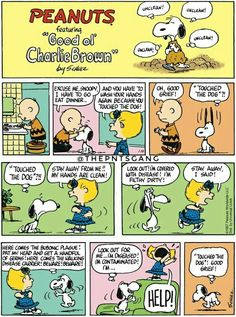 "Peanuts - Unclean, unclean! --  [This could have gone on my ""Introspection"" board 'op]"