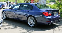 Alpina Burkard Bovensiepen GmbH is an automobile manufacturing company based in Buchloe, in the Ostallgäu district of Bavaria, Germany selling their own cars, based on BMW cars. Bmw Alpina, Bmw E46, Bmw 7 Series, Bmw Cars, Luxury Cars, Cool Cars, Automobile, Vehicles, Bavaria Germany