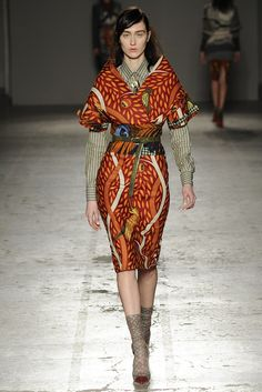 Stella Jean Fall 2014 RTW - Runway Photos - Fashion Week - Runway, Fashion Shows and Collections - Vogue African Inspired Fashion, African Print Fashion, Africa Fashion, Ethnic Fashion, Fashion Prints, News Fashion, Fashion Mode, Love Fashion, Fashion Show