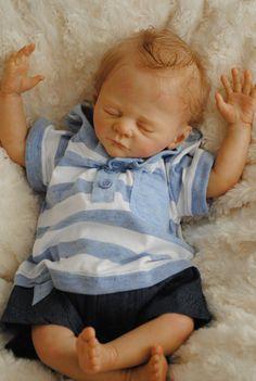 Reborn Baby Boy Doll was Bennett  Limited by CandyLaneNursery, $585.00. Oh I want HIM....