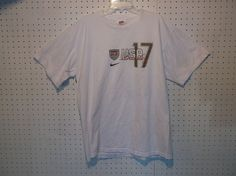 UNITED STATES USA WORLD CUP NATIONAL TEAM NIKE JERSEY BEASLEY #17 MEN T-SHIRT(M) #Nike #USA