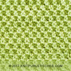 Double Moss Stitch is a basic knit purl stitch pattern. Pattern includes chart and written instructions out row by row. Knitting Stitches Basic, Round Loom Knitting, Knitting Basics, Dishcloth Knitting Patterns, Circular Knitting Needles, Knitting Charts, Knitting Kits, Easy Knitting, Crochet Stitches Patterns