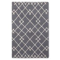 Threshold™ Kenya Fleece Accent Rug - Grey