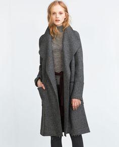 WOOL COAT-Coats-OUTERWEAR-Woman-COLLECTION SS16   ZARA Canada