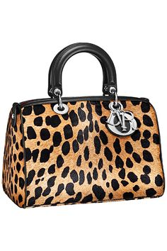 Dior - Bags - 2014 Pre-Fall. Animal print...just amazing!!!