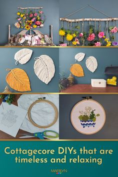 There's never been a better time to take up embroidery. Tap the link to get crafting! Dyi Crafts, Adult Crafts, Cute Crafts, Crafts For Kids, Arts And Crafts, Sewing Projects For Kids, Sewing For Kids, Craft Projects, Projects To Try
