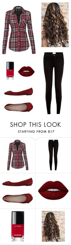 """""""Untitled #435"""" by pema529 ❤ liked on Polyvore featuring Le Mie Ballerine, Lime Crime, Chanel and vintage"""