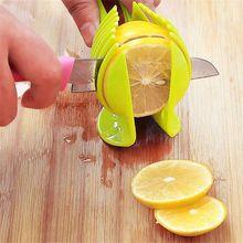 Fatias de Limão Fatiador Cortador De Frutas multifuncional Titular Rodada Biscoito Pão Slicer Cozinha Cozinhar Frutas Ferramentas Da Cozinha Dispositivo(China (Mainland))