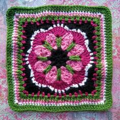 Extra Patterns for the Crochet-a-Long: 10 Paid Afghan Squares!