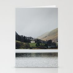 Lake Grassmere, Cumbria Stationery Cards by jphoto - $12.00