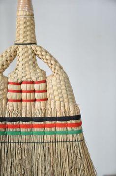 Japanese broom, I do love functional art.
