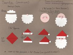 Santa punch art tutorial.