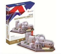 Cubic Fun Westminster Abbey Uk - 145 Piece 3d Puzzle | Buy Online in South Africa | takealot.com