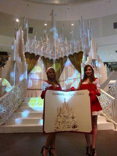 Ingrid Siliakus - Christmas decorations/solo exhibition at shopping mall Elements, Hong Kong.