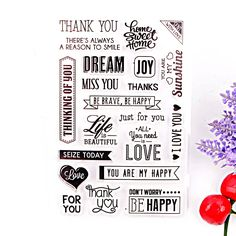 Clear Stamps Crafts and Scrapbooking DIY Photo Cards Album Thank You Design Transparent Silicone Stamp,High Quality stamp rubber,China card reader for laptop Suppliers, Cheap card packing from BESTA HOME on Aliexpress.com