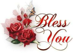 free clip art religious new year bless you roses   christian-myspace-comments  »