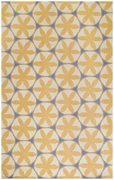 Capel Charlotte Yellow Rug & Reviews | Wayfair 1375