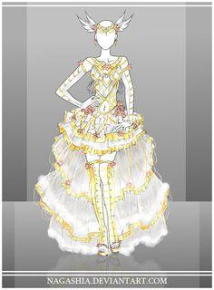 COM: SilverAngel907 outfit by Nagashia