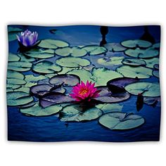 Kess InHouse Ann Barnes Twilight Pet Blanket 30 by 40Inch Water Lily * For more information, visit image link.