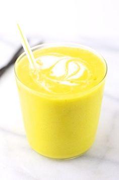 Mango Coconut Vanilla Milkshake (vegan)