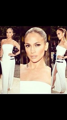 Take years off your look with #Jlo's super-slick modern ponytail.. Think INSTAFACELIFT! A tightly pulled back pony with an ultra shiny finish is oh so hot right now. Get the look with our range of One Pieces. Shop geehair.com.