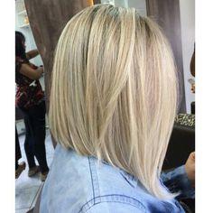 Hair - long bob - haircut