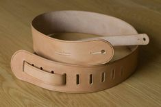 Hand made Leather Guitar Strap