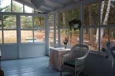 Résultats de recherche d'images pour «veranda moustiquaire chalet pêche»