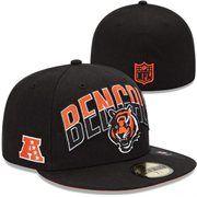 b1e4f777e New Era Cincinnati Bengals 2013 NFL Draft 59FIFTY Fitted Hat - Black 32 Nfl  Teams