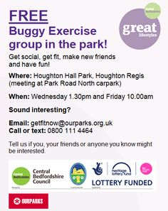 Whats On in Houghton Regis. HRND Event News: Regular Events