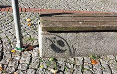 Sit-in bei Sonnenschein irgendwo in #FrankfurtAmMain #cityghost #Spot