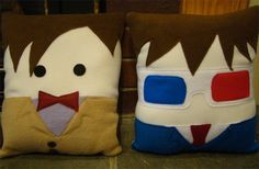 Things Found on Etsy: Doctor Who Pillows! - TechGeek