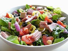 Simply Bella Baby: Antipasto Salad