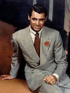 Vintage fashion of the is gaining favor with people who love the classic elegance. Betty Grable, Veronica Lake, Rita Hayworth, Cary Grant, retro fashions of the Cary Grant, Mae West, Sharp Dressed Man, Well Dressed, Classic Hollywood, Old Hollywood, Hollywood Glamour, Hollywood Stars, Hollywood Party