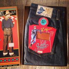 Just arrived! Mister Freedom Californian blue jeans Lot Made in USA. Pancho And Lefty, Japanese Denim, Workwear, My Eyes, Blue Jeans, Freedom, Menswear, Usa, American