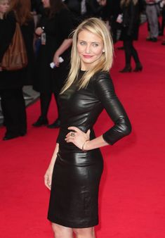 Cameron Diaz attends UK Gala premiere of The Other Woman                                                                                                                                                      Más