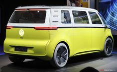 Volkswagen I. Vw Buzz, Paris In September, Electric Van, Volkswagen, Truck Design, Trucks, Campervan, Concept Cars, Beetle