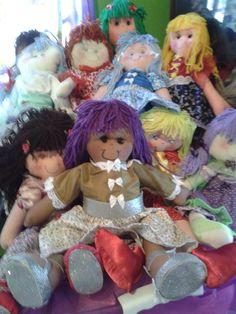 Minhas bonecas de pano