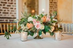 flowers // charleston wedding // upstairs at midtown // priscilla thomas photography