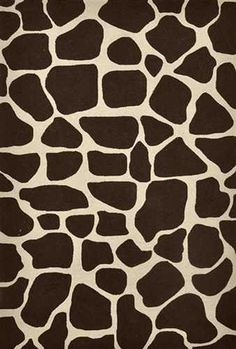 Brown:  Giraffe pattern.
