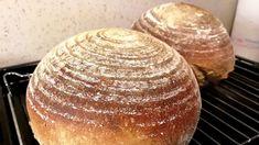 Postup na základní pšenično žitný kváskový chléb