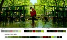 Movies In Color : Photo Movie Color Palette, Modern Color Palette, Colour Pallette, Movies In Color, Color In Film, Skyfall, Fight Club, King Kong, Blade Runner