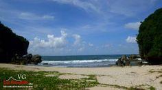 Pantai kayu arum pantai prawan di Gunungkidul | Visit Gunungkidul