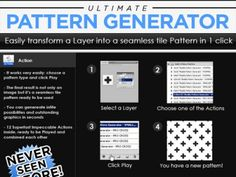 Free Pattern / Logo Generator - Free Design Resources