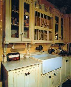Roman and Williams Practical magic kitchen- farm house sink