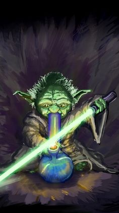 """Try edible marijuana, I will."" Yoda wants you to try delicious Cannabis Chocolates, and tasty Dragon Teeth Mints. Marijuana is powerful in edibles you make easily yourself. Great ebook:  MARIJUANA - Guide to Buying, Growing, Harvesting, and Making Medical Marijuana Oil and Delicious Candies to Treat Pain and Ailments by Mary Bendis, Second Edition. Only 2.99.    www.muzzymemo.com"
