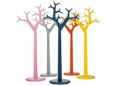 Wooden Coat rack TREE 134 - 194 by SWEDESE MÖBLER | Design Michael Young, Katrin Olina @Swedese