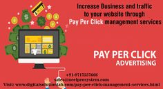 Pay-Per-Click management services are getting popular more in online marketing strategies. With the interest of people shifting in online purchases, having appropriate PPC advertising has an influential advantage for digital marketing campaign.